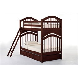 NE Kids School House Jordan Slat Bunk Bed with Trundle-MER-1211-8