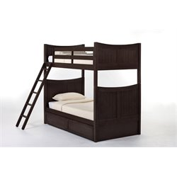 NE Kids School House Taylor Storage Bunk Bed-MER-1211-81