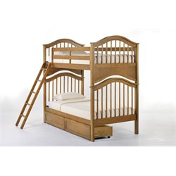 NE Kids School House Jordan Storage Slat Bunk Bed-MER-1211-78