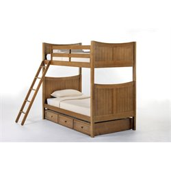 NE Kids School House Taylor Bunk Bed with Trundle-MER-1211-88