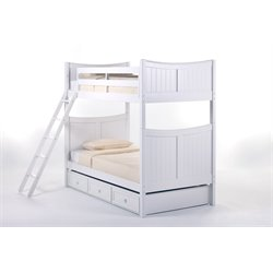 NE Kids School House Taylor Bunk Bed with Trundle-MER-1211-89