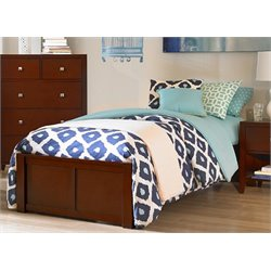 NE Kids Pulse Platform Bed in Cherry-MER-1211-93