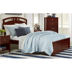 NE Kids Pulse Bed in Cherry-MER-1211-95