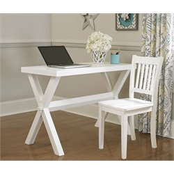 NE Kids Pulse Trestle Base Writing Desk with Chair-MER-1211-121