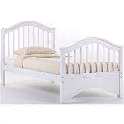 NE Kids School House Jordan Bed in White