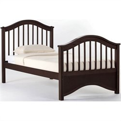 NE Kids School House Jordan Bed in Chocolate