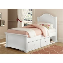 NE Kids Walnut Street Morgan Arch Storage Bed