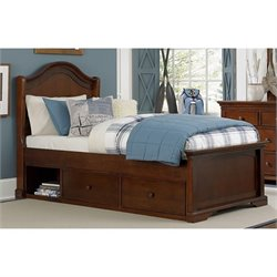 NE Kids Walnut Street Morgan Arch Storage Bed 1