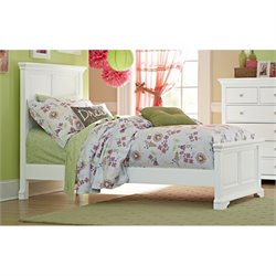NE Kids Walnut Street Devon Panel Bed