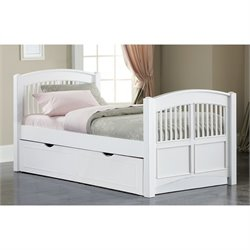 NE Kids Walnut Street Twin Hayden Bed with Trundle