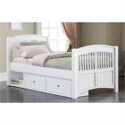 NE Kids Walnut Street Twin Hayden Storage Bed