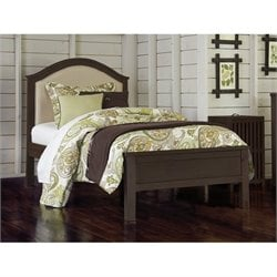 NE Kids Highlands Bailey Upholstered Bed 1