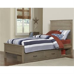 NE Kids Highlands Alex Panel Storage Bed