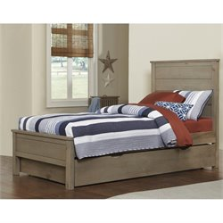 NE Kids Highlands Alex Panel Bed with Trundle