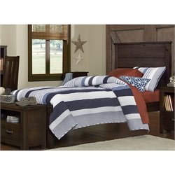 NE Kids Highlands Alex Panel Bed 1