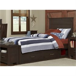 NE Kids Highlands Alex Panel Storage Bed 1