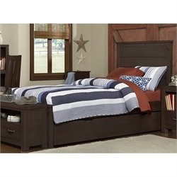 NE Kids Highlands Alex Panel Bed with Trundle 1
