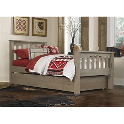 NE Kids Highlands Harper Slat Bed with Trundle