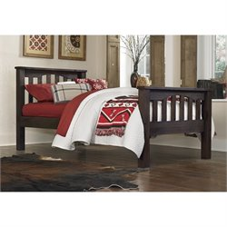NE Kids Highlands Harper Slat Bed 1