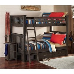 NE Kids Highlands Harper Storage Bunk Bed 3