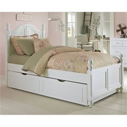 NE Kids Lake House Payton Arch Bed with Trundle 1