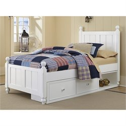 NE Kids Lake House Kennedy Storage Panel Bed 1