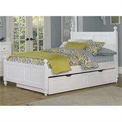 NE Kids Lake House Kennedy Panel Bed with Trundle 1