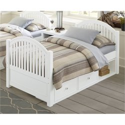 NE Kids Lake House Twin Adrian Slat Storage Bed