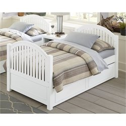 NE Kids Lake House Twin Adrian Slat Bed with Trundle