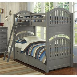 NE Kids Lake House Adrain Bunk with Trundle