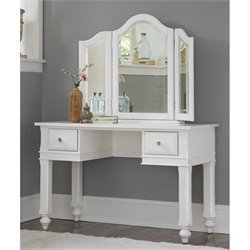 NE Kids Lake House Vanity with Mirror and Chair