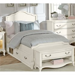 NE Kids Kensington Charlotte Panel Storage Bed
