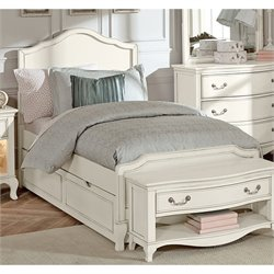 NE Kids Kensington Charlotte Panel Bed with Trundle