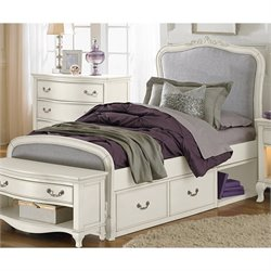 NE Kids Kensington Katherine Upholstered Storage Bed