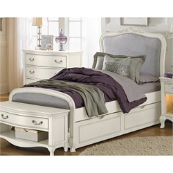 NE Kids Kensington Katherine Upholstered Bed with Trundle