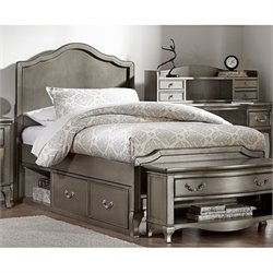 NE Kids Kensington Charlotte Panel Storage Bed 1