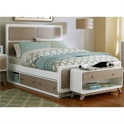 NE Kids East End Panel Storage Bed