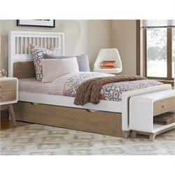 NE Kids East End Spindle Bed with Trundle