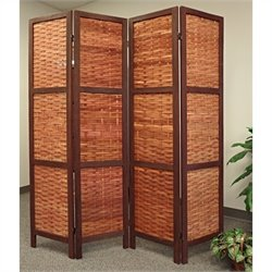 Proman Products Saigon Folding Screen in Bamboo