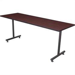 Regency Kobe 66 Inch Rectangular Training Table in Mahogany