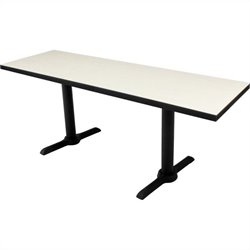 Cain Rectangular Training Table in Maple