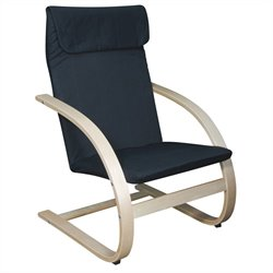 Regency Mia Rocking Chair in Natural And Black
