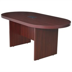 Regency Legacy Racetrack Conference Table in Mahogany