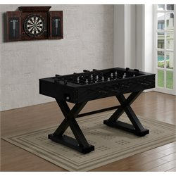 American Heritage Billiards Lennox Foosball Table in Black