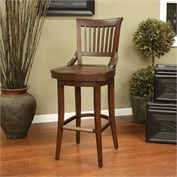 American Heritage Billiards Liberty Bar Stool in Suede