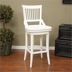American Heritage Billiards Liberty Bar Stool in Antique White