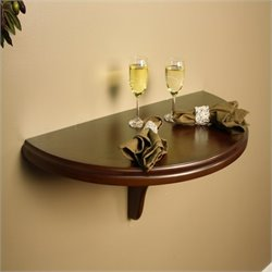 American Heritage Billiards Chicago Wall Table in Sierra Finish