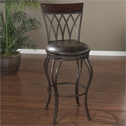 American Heritage Palermo Bar Stool in Pepper