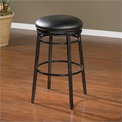 American Heritage Silvano Bar Stool in Black