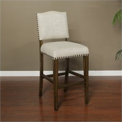 American Heritage Worthington Bar Stool in Coastal Grey
